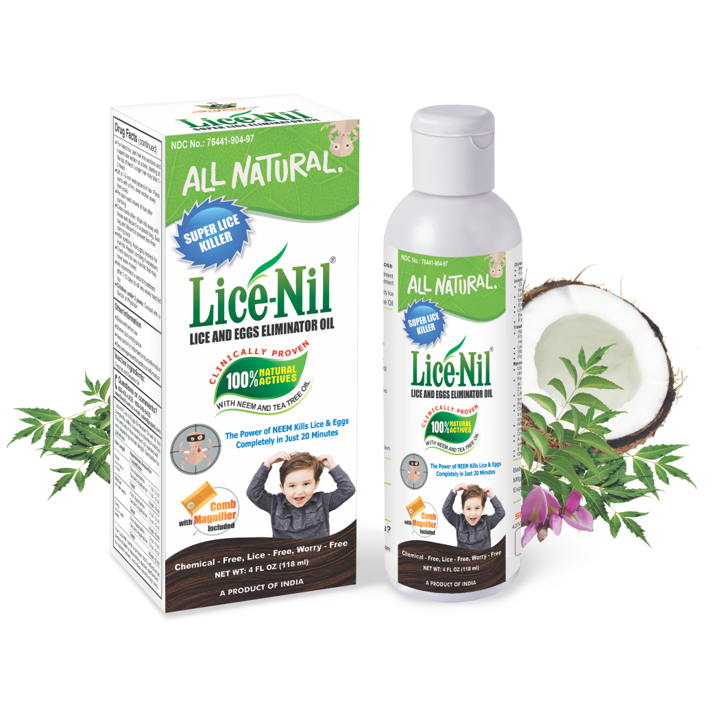 Lice-Nil - get rid of lice naturally